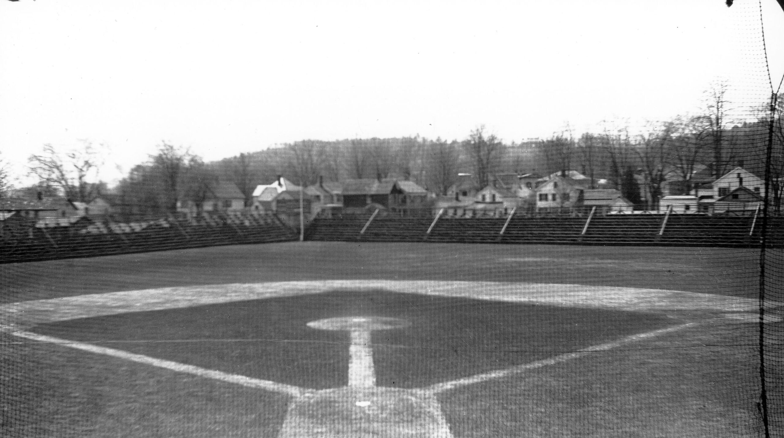 Doubleday Field during Induction.